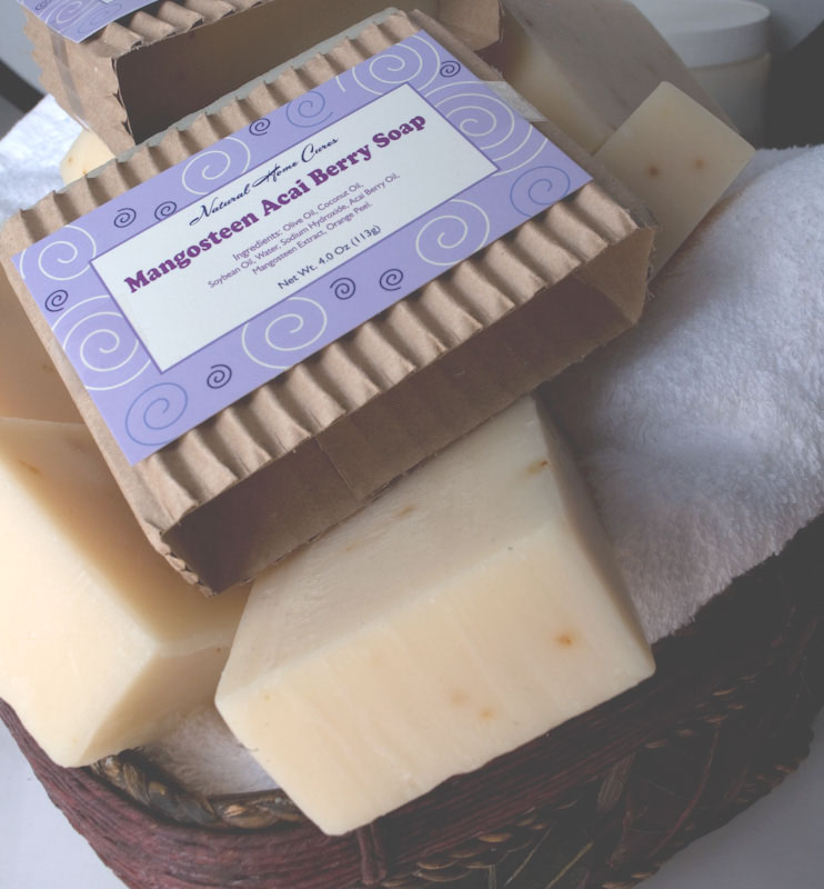 Mangosteen Acai Berry Soap 3-Pack