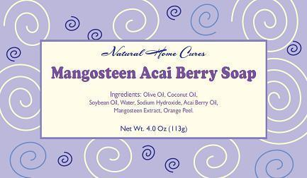 Welcome To Our Mangosteen Acai Berry Soap Website